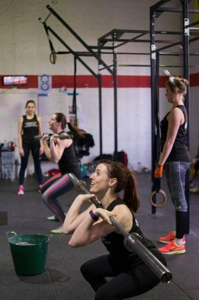 Ladies That Lift Squat Thrust