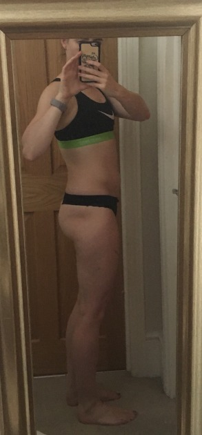 Running In Glass Shoes Progress Photo Side July