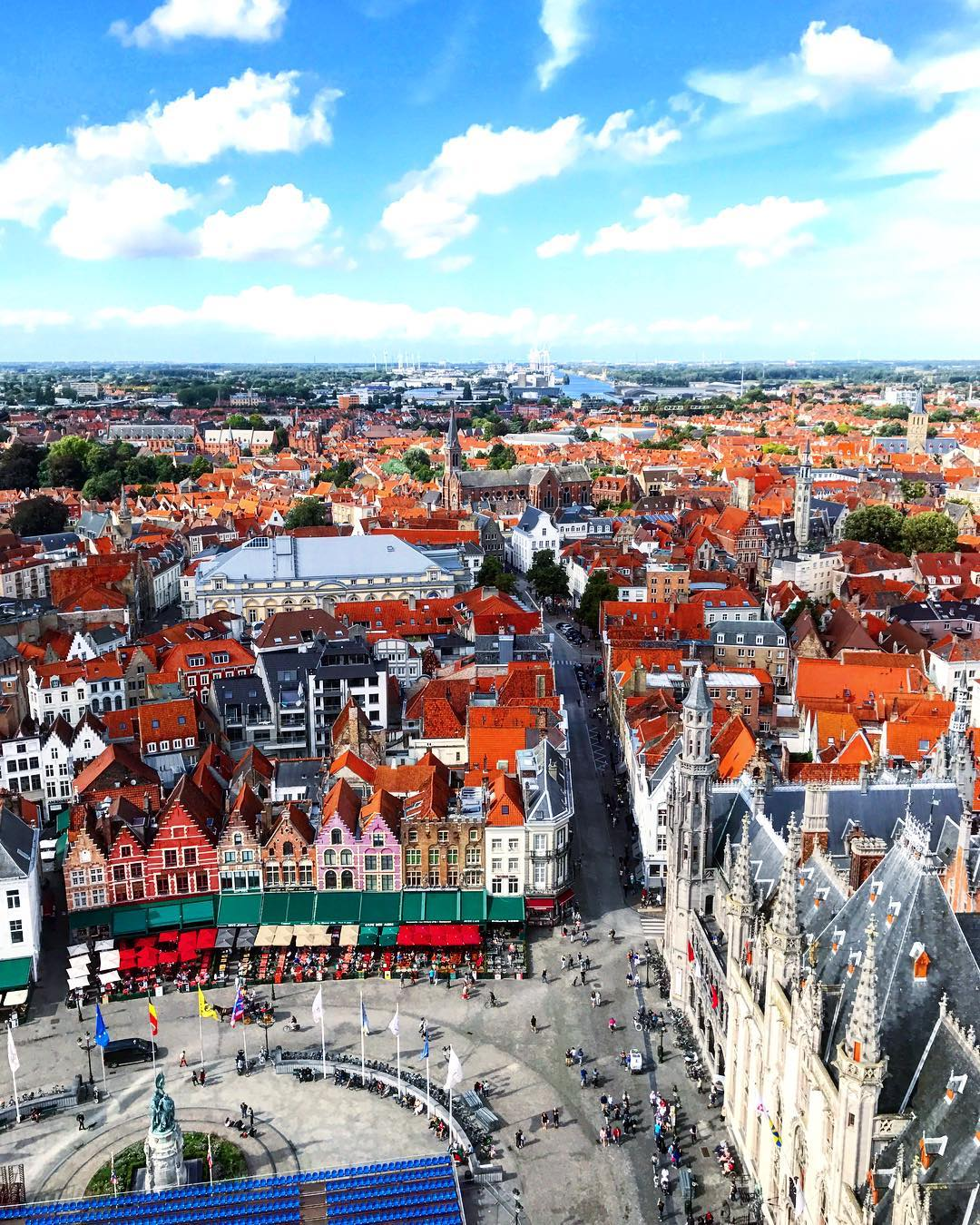 Running In Glass Shoes Travel Fit Bruges Belfry View