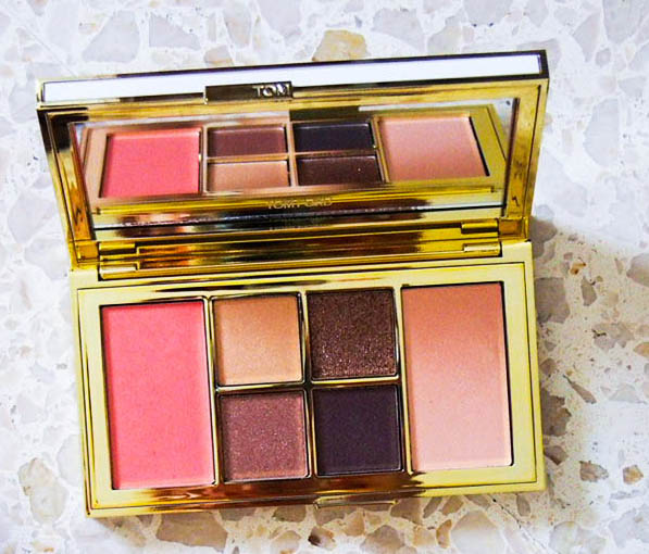 Running In Glass Shoes Destination Wedding Beauty TOM FORD Soleil Eye and Cheek Palette