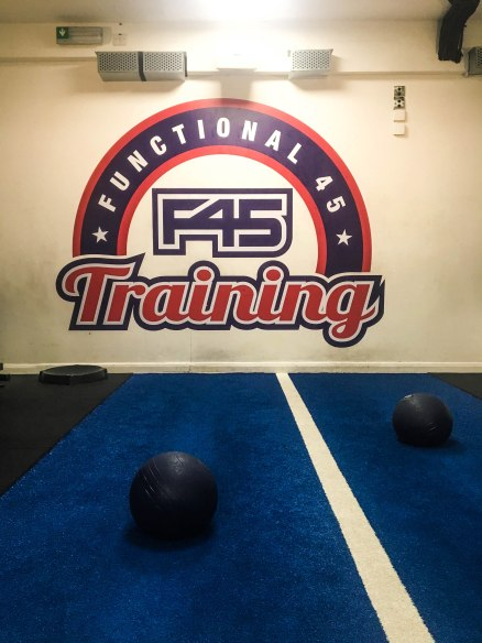 Running In Glass Shoes F45 Training