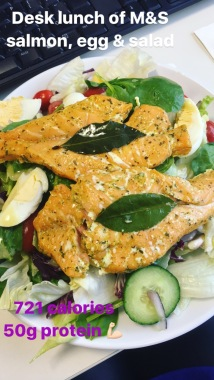 Running In Glass Shoes Forgetful Meal Prep Salmon Salad