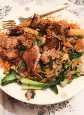 Forgetful Meal Prep Turkey Veg Rice