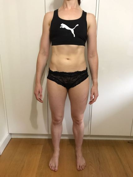 Running In Glass Shoes Bikini Fitness Month 3