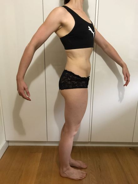 Running In Glass Shoes Bikini Fitness Goal Month 3 Side