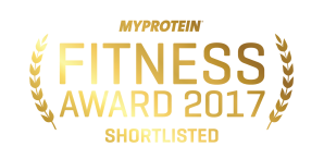 My Protein Fitness Award 2017 Shortlisted